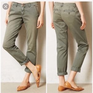 Anthropologie PILCRO Chino HYPHEN Ankle Pants